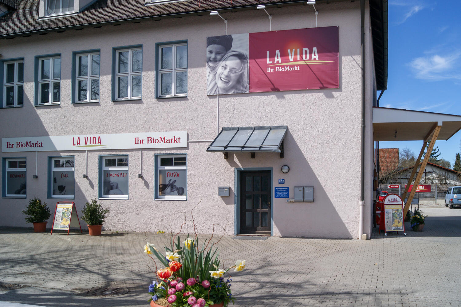 Bio-Supermarkt in Utting am Ammersee